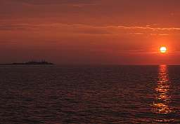 Sunset at Sandy Hook