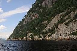 Dwarfed Kayakers
