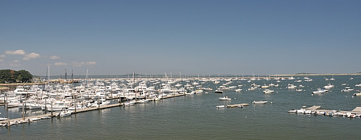 Plymouth Harbor from PYC