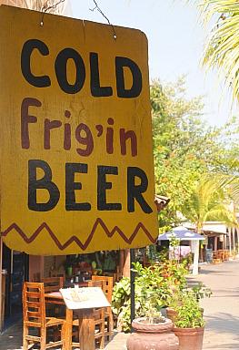 Cold Frig'in Beer