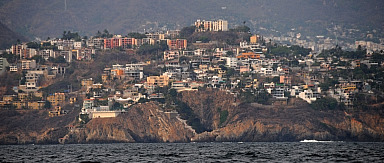 Approaching Acapulco