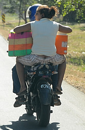 Motorcycle for 2+