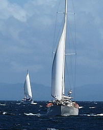 Rounding Punta Santa Elena
