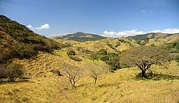 Lanscape headed to Monteverde