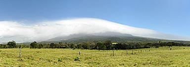 Climate between volcanos Tenorio and Miravalles