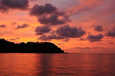SUnset at Bahia Drake