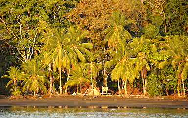 Fishermans hut at Isla Parida