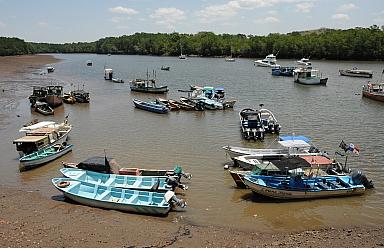 Puerto Mutis harbor