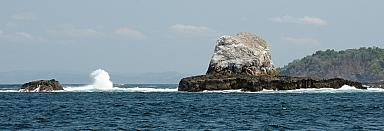 Rocks off W tip of Cebaco
