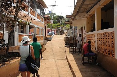Streets of Esmeralda village
