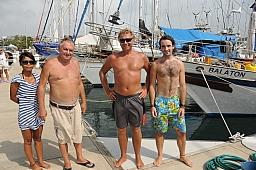 Crew of the Balaton