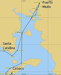 Puerto Mutis Map