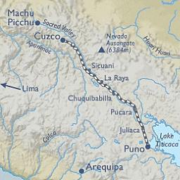 Andian Explorer Route