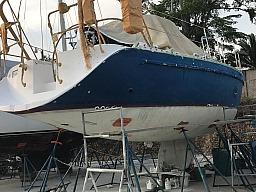 Repainting hull