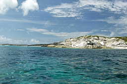 Cliffs on N Side of Anguilla Cay