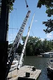 Pulling the Mast